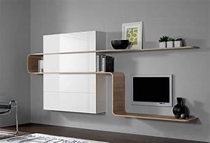 Meuble Mural Chambre : meuble mural bureau mobilier bureau pas cher lepolyglotte ~ Teatrodelosmanantiales.com Idées de Décoration