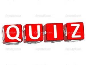 Clip Art Trivia Quiz