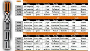 P90X3 Schedule - (Free Inside) - Get Ripped At Home