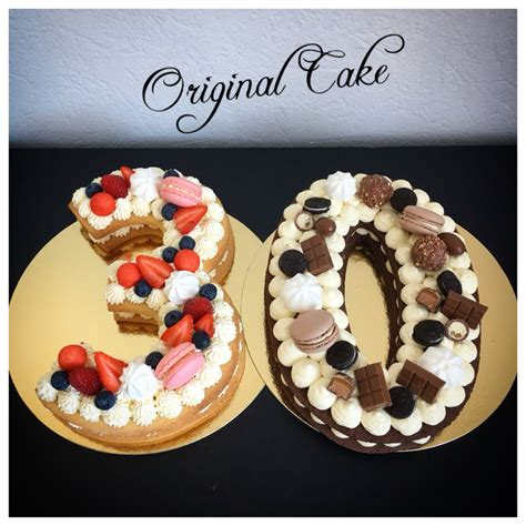 Préparation de la pâte sablée au chocolat placez la farine, le sucre glace, le cacao et le sel dans un récipient ou dans. Number Cake 30 chocolat, vanille fruits rouges - Original Cake