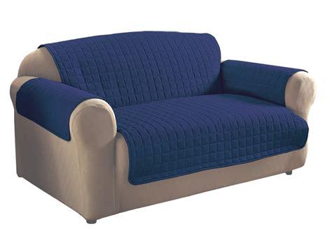 navy blue microfiber sofa protector ebay - Blue Microfiber Sofa