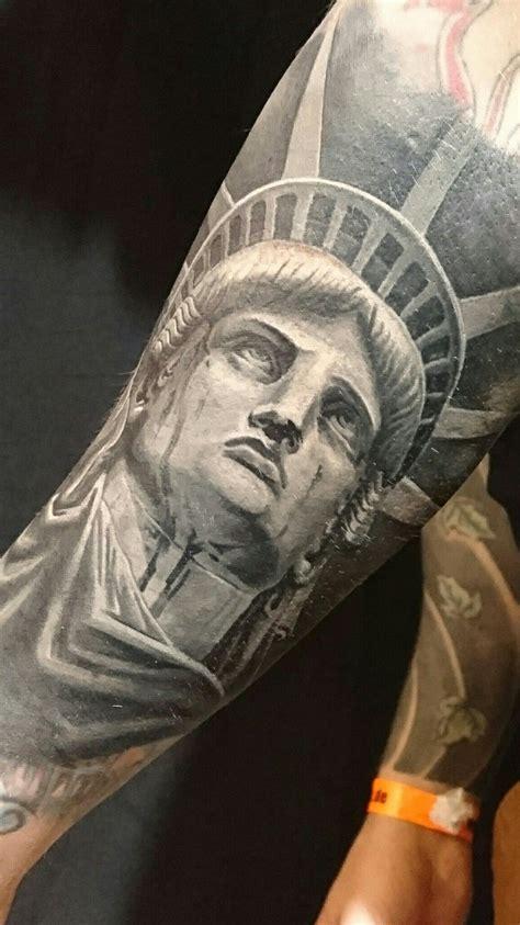 statue  liberty tattoo tattoos liberty tattoo