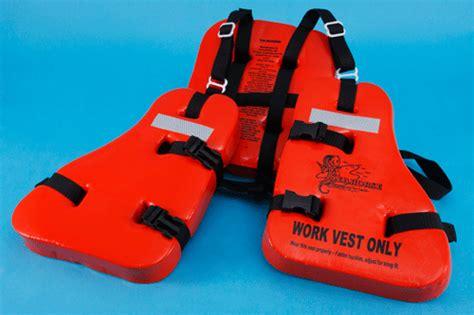 Work Vest Seahorse Wv-10 Usa / U.s.c.g. Approved