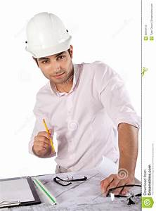 young, architect, at, work, stock, photography