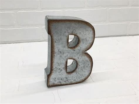 small metal letters 24 best 7 quot galvanized metal letters images on 16338