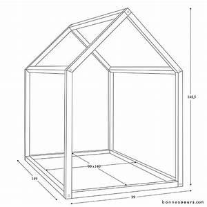 Lit Montessori Cabane : lit cabane montessori lit double grandeur efutoncovers ~ Melissatoandfro.com Idées de Décoration
