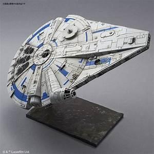 Faucon Millenium Star Wars : bandai solo a star wars story 1 144 millenium falcon model kit mintinbox ~ Melissatoandfro.com Idées de Décoration