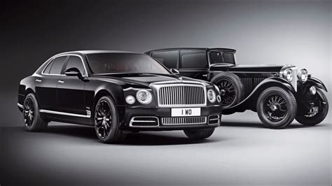 2019 Bentley Mulsanne Wo Edition By Mulliner Is World's