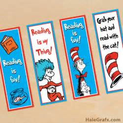 dr seuss cat in the hat book free printable dr seuss cat in the hat bookmarks