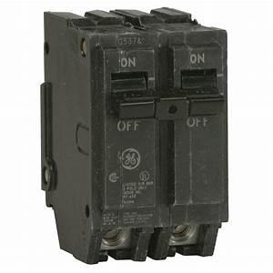 Prise 20 Ampere : ge q line 100 amp 2 in double pole circuit breaker ~ Premium-room.com Idées de Décoration