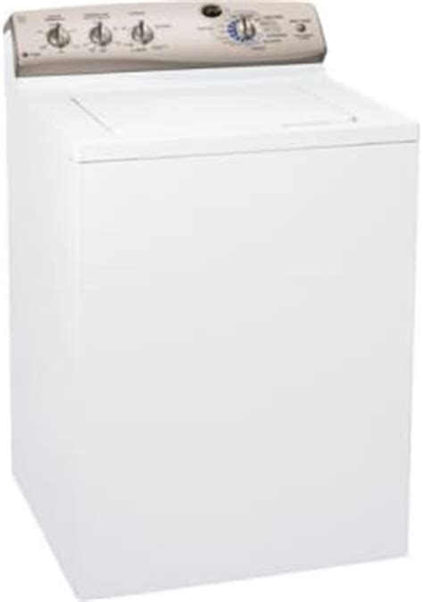 Ge Wpre6150kwt 27 Inch Topload Washer With 41 Cu Ft