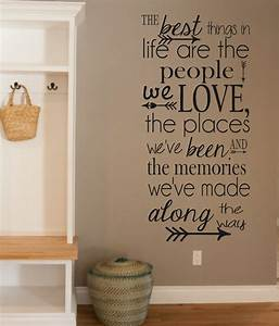Vinyl wall decal the best things in life people love for The best of family decals for walls
