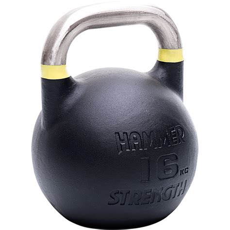 competition kettlebell hammer 16kg yellow