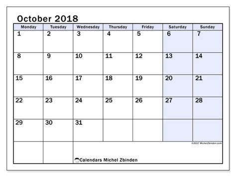 calendar october ms michel zbinden en