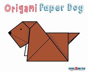 Easy Origami Paper Dog