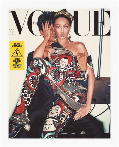 Latest Vogue Cover by Is Gigi Hadid S Latest Vogue Italia Cover A Hint Towards