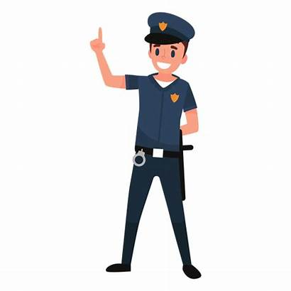 Policeman Transparent Policia Svg Uniforme Vexels Uniform