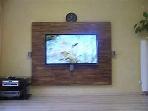 Tv Wand Selber Bauen Holz Die Neuesten
