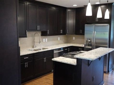 Black Cabinets With Marble Countertops by Pinterest The World S Catalog Of Ideas