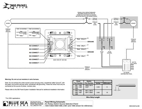 Blue Sea Systems Series Panel Vac Rotary
