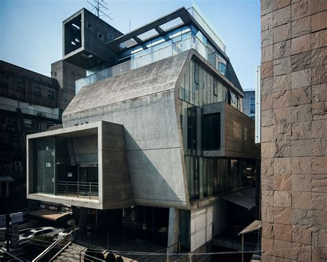 Architecture Seoul Brutalist Revival Architecture And