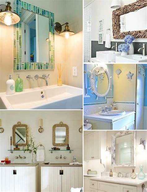 Coastal Bathroom Mirrors by Decorative Bathroom Mirrors Coastal Nautical Style