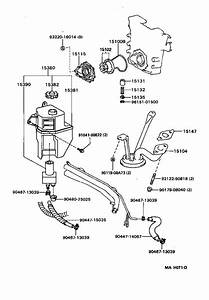 Toyota Previa Gear  Oil Pump Drive  Engine  System  Lubricating