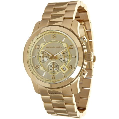 watches for men michael kors mk8077 gold tone men 39 s watch mumer watches