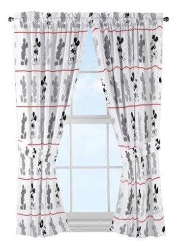 cortinas mickey ideas para decorar con cortinas de mickey mouse como