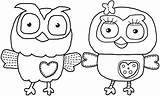 Coloring Owl Pages Cute Hard Comments sketch template