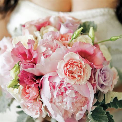 peony wedding bouquets martha stewart weddings