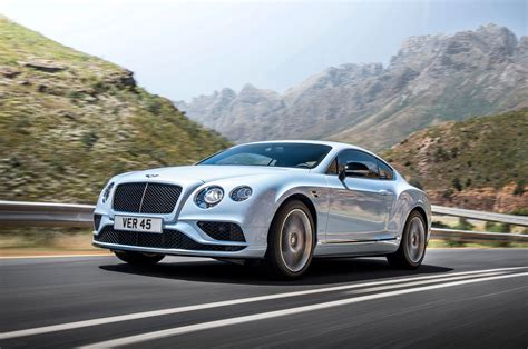 2018 Bentley Continental Gt V8 S Front Three Quarter In Motion