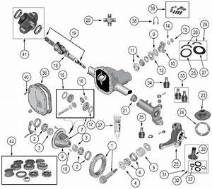 Diagrams For Jeep    Axle  U0026 Differential    Dana 30 Front