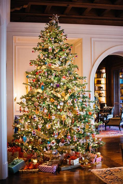 traditional christmas tree ideas  pinterest