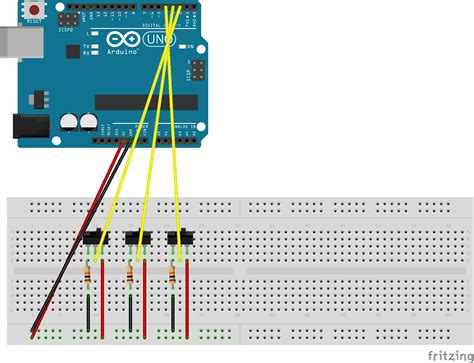 Arduino Switch by Serial Reading States Of Toggle Switches