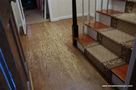 hometalk painted  hardwood floors   whitewashed
