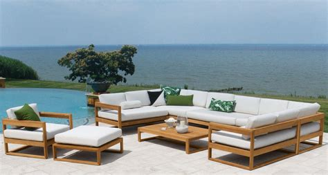 discover teak patio furniture  los angeles