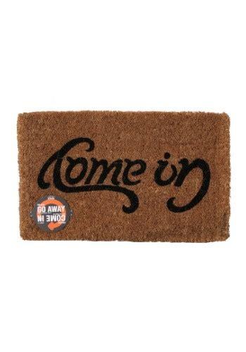 Ambigram Doormat by Reversible Ambigram Come In Go Away Doormat