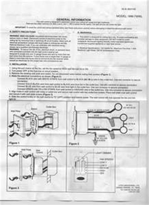 Hampton Bay Remote Fan Switch Wiring Diagram Schemes