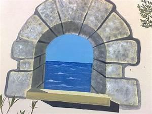 Trompe L Oeil Fenetre Exterieur : fresque sur mur ext rieur ~ Melissatoandfro.com Idées de Décoration