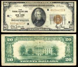 Value of Old Dollar Paper Money Currency