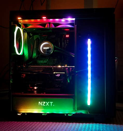 best pc case lighting pimp your pc with an rgb lighting kit pcworld