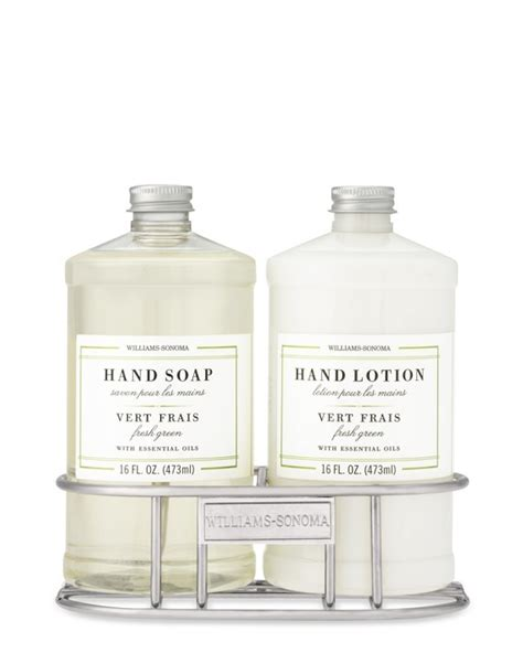 williams sonoma soap lotion caddy remodelista