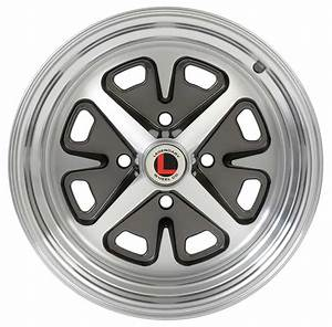 1965 Ford Mustang Parts | 1007LW4C | 1965-73 Magnum 400 Alloy Wheel 4