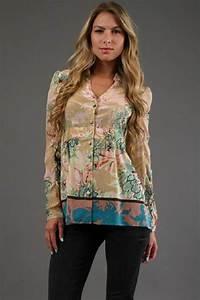 Blusas manga larga con estampados floreados AquiModa com: vestidos de boda, vestidos baratos