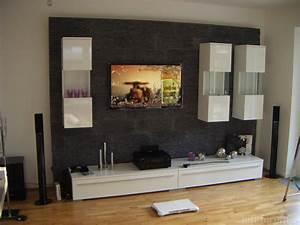 Steinwand Wohnzimmer Tv : tv wand heimkino surround tv wand hifi bildergalerie ~ Bigdaddyawards.com Haus und Dekorationen