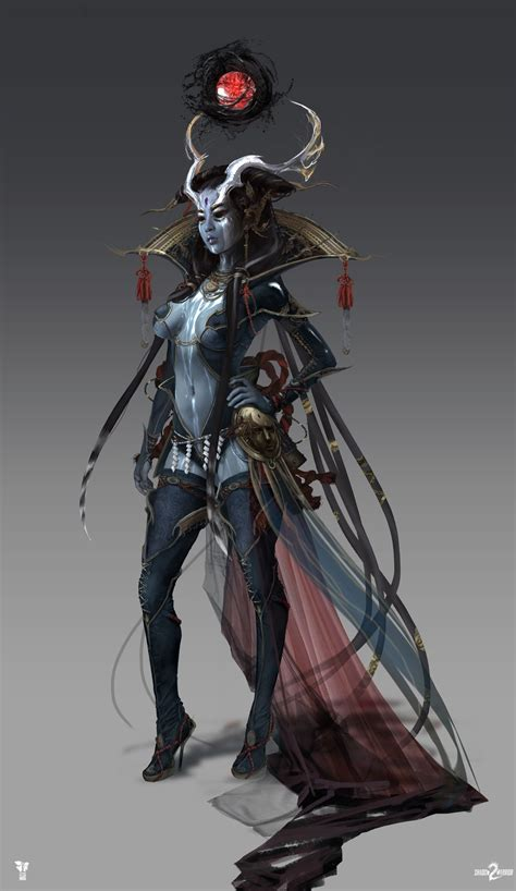 artstation shadow warrior  ameonna magdalena radziej