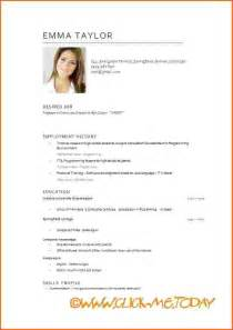 resume template for freshers download google cv in english exle doc free short cv model cv model download word syvbe homejobplacements org