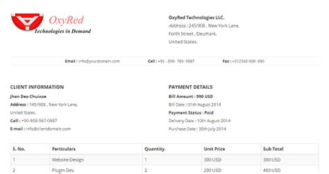 28 invoice template bootstrap stripe simple invoice