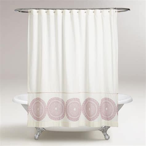 lavender shower curtain lavender lydia medallion shower curtain world market